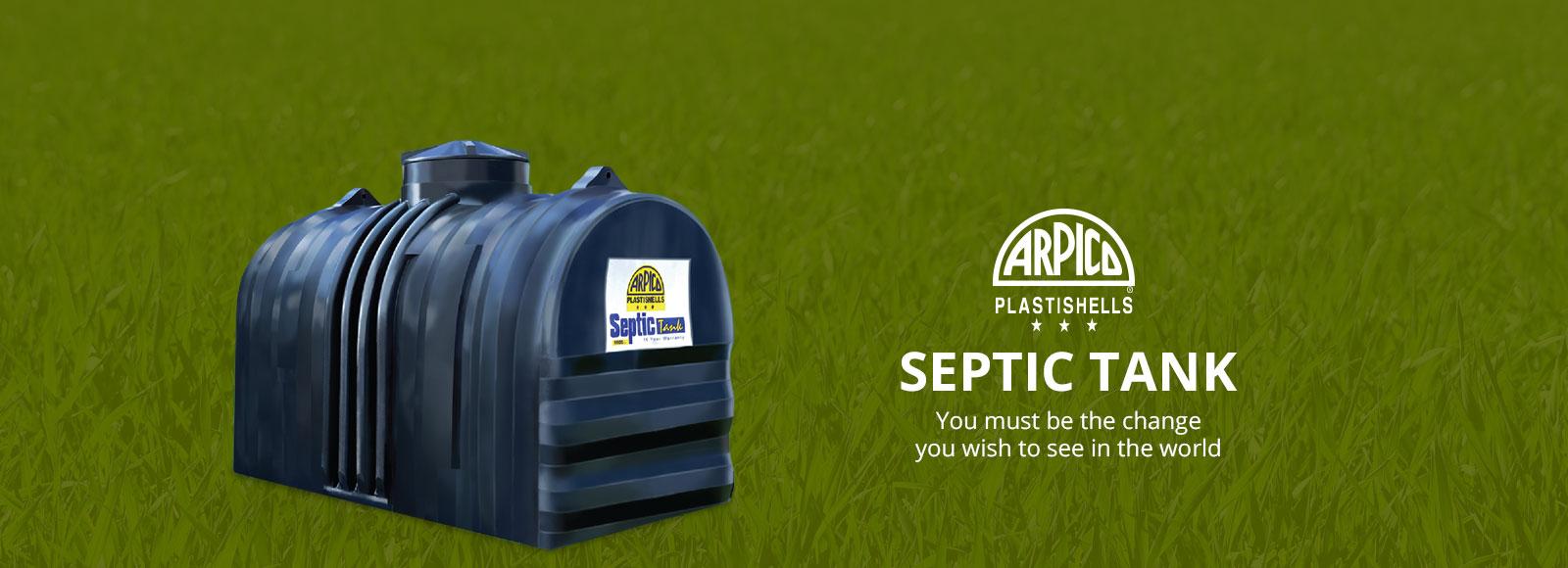 Septic Tanks | Arpico Water Tanks